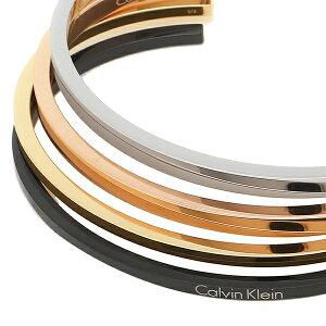 【返品OK】カルバンクライン ブレスレット S バングル シルバー ゴールド ローズゴールド ブラック レディース メンズ CALVIN KLEIN KJ7GBF40010S