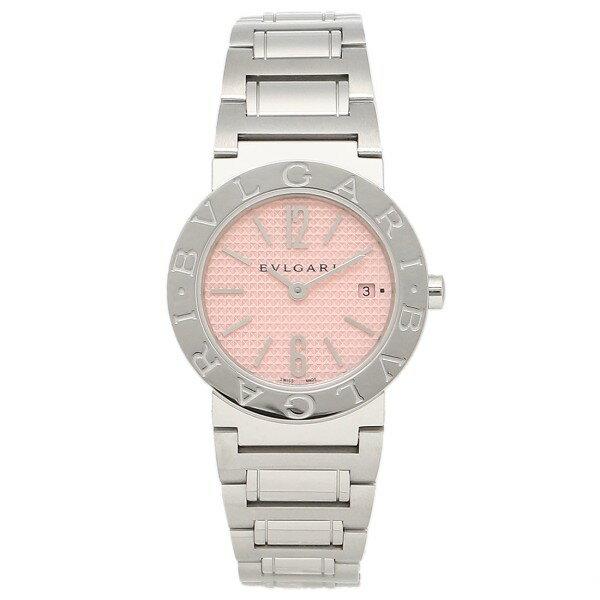 【24時間限定ポイント5倍】ブルガリ 時計 レディース BVLGARI 腕時計 ブルガリ ピンク BB26C2SSD/JA ウォッチ シリアル有