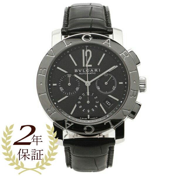 【4時間限定ポイント10倍】ブルガリ BVLGARI 時計 腕時計 メンズ ブルガリ 時計 メンズ BVLGARI BB42BSLDCH ブルガリブルガリ 腕時計 ウォッチ ブラック