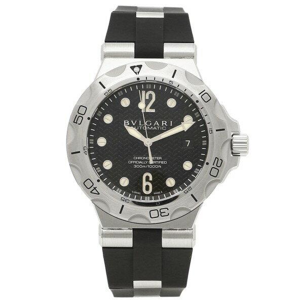 ブルガリ BVLGARI 時計 腕時計 メンズ ブルガリ 時計 メンズ BVLGARI DP42BSVDSD ディアゴノ 腕時計 ウォッチ ブラック