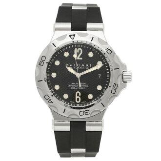 寶格麗BVLGARI鐘表手錶人寶格麗鐘表人BVLGARI DP42BSVDSD diagono手錶表黑色