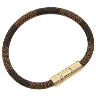 Louis Vuitton bracelet accessories Lady's LOUIS VUITTON M6139F brown