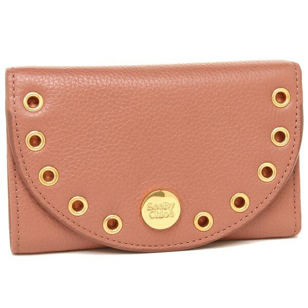 シーバイクロエ 折財布 レディース SEE BY CHLOE CHS18SP704 349 26W ピンク