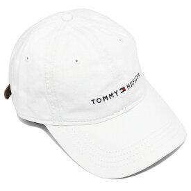 【6時間限定ポイント5倍】【返品OK】TOMMY HILFIGER トミーヒルフィガー キャップ レディース C817878600 100 ホワイト アウトレット