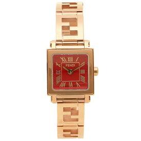 【48時間限定ポイント10倍】【返品保証】フェンディ 腕時計 レディース FENDI F605527200D レッド ピンクゴールド
