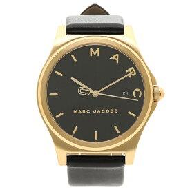 マークジェイコブス 腕時計 レディース MARC JACOBS MJ1608 ブラック イエローゴールド