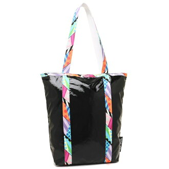 Reply port case tote bag Lady's LESPORTSAC 8314 G419 BLACK DIMENSION