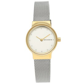 【返品OK】スカーゲン 腕時計 レディース SKAGEN SKW2666 シルバー イエローゴールド