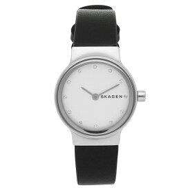 【P10倍 7/30 20時〜24時】【返品OK】スカーゲン 腕時計 レディース SKAGEN SKW2668 ブラック シルバー