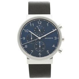 【返品OK】スカーゲン 腕時計 メンズ SKAGEN SKW6417 ブラック シルバー ブルー