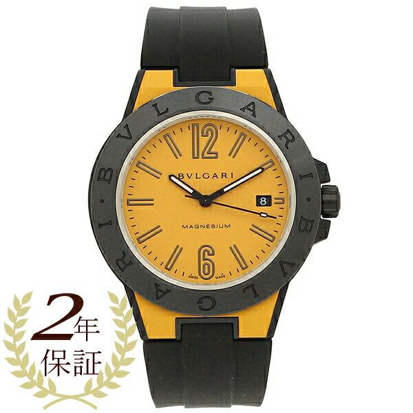 ブルガリ 腕時計 メンズ 自動巻き BVLGARI DG41C10SMCVD イエロー ブラック