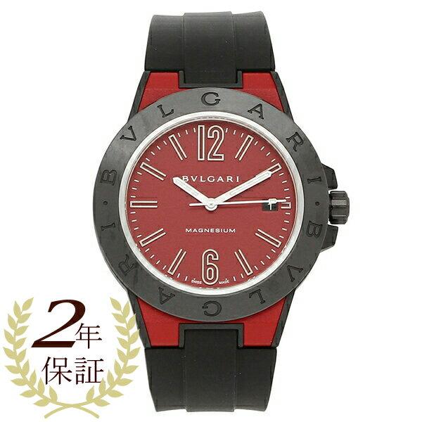 ブルガリ 腕時計 メンズ 自動巻き BVLGARI DG41C9SMCVD/SP レッド ブラック