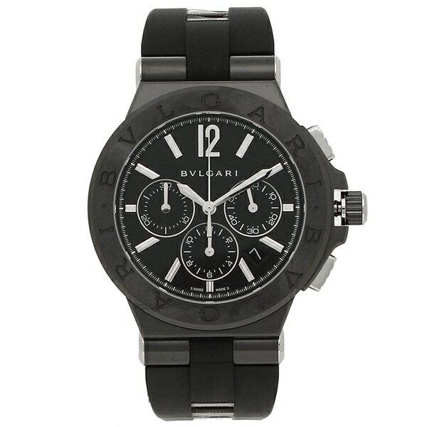 ブルガリ 腕時計 メンズ 自動巻き BVLGARI DG42BBSCVDCH ブラック