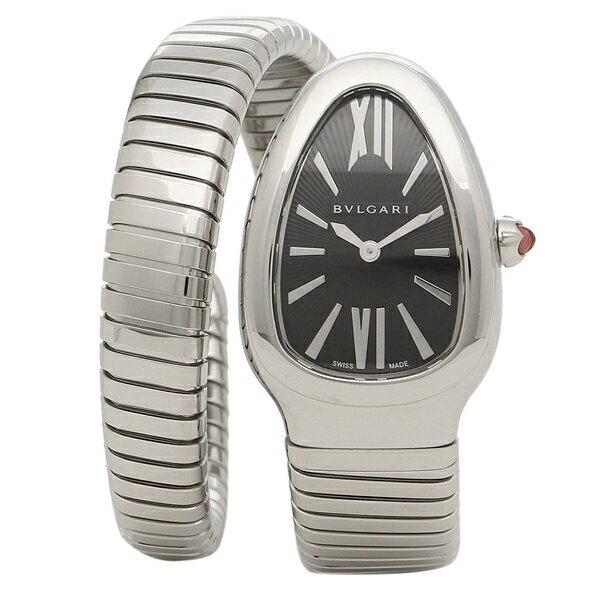 ブルガリ 腕時計 レディース BVLGARI SP35BSS.1T ブラック シルバー