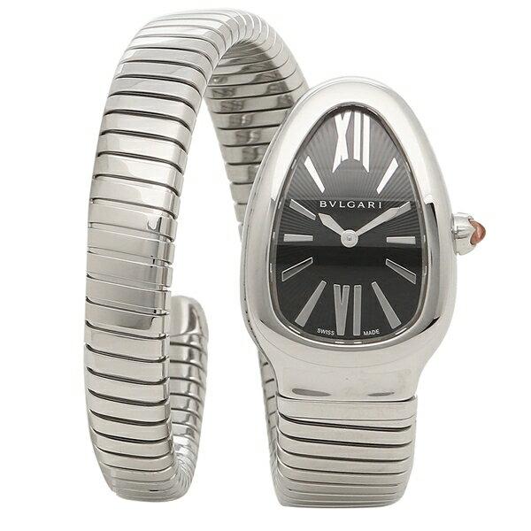 ブルガリ 腕時計 レディース BVLGARI SP35BSS.1T/L ブラック シルバー