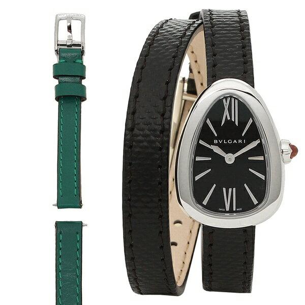 ブルガリ 腕時計 レディース BVLGARI SPS27BSL ブラック シルバー