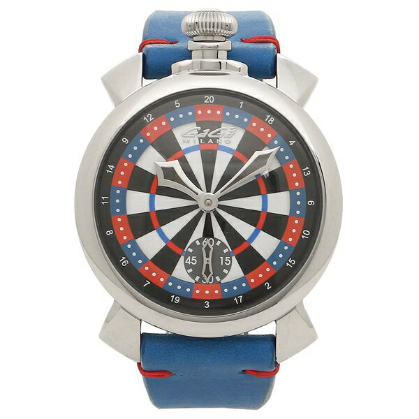 【4時間限定ポイント10倍】ガガミラノ 腕時計 メンズ GAGA MILANO 5010LV03 マルチカラー ブルー シルバー