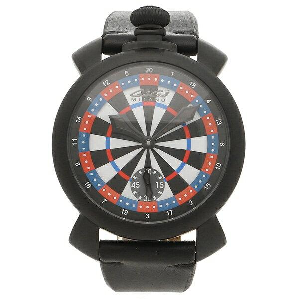 【4時間限定ポイント10倍】ガガミラノ 腕時計 メンズ GAGA MILANO 5012LV03 マルチカラー ブラック