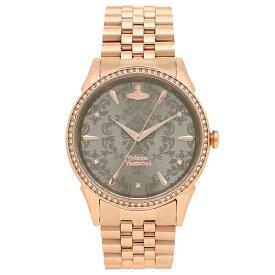 ヴィヴィアンウエストウッド 腕時計レディース VIVIENNE WESTWOOD VV208RSRS ローズゴールド グレー
