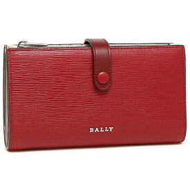 バリー 折財布 レディース BALLY 6224704 156 レッド
