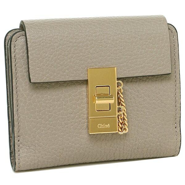 クロエ 折財布 レディース CHLOE CHC16AP805 944 23W グレー
