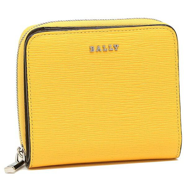 【4時間限定ポイント10倍】バリー 折財布 レディース BALLY 6224711 42 イエロー