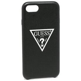 【72時間限定ポイント10倍】【返品OK】ゲス iphoneケース メンズ レディース GUESS GUHCI8PUWT BLK ブラック