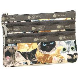 レスポートサック ポーチ レディース LESPORTSAC 7158 D976 CAT CAFE