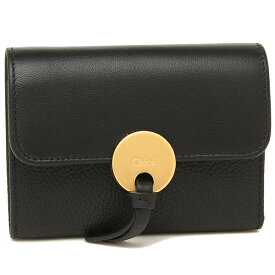 【4時間限定ポイント10倍】【返品OK】クロエ 折財布 レディース CHLOE CHC17SP853H8J 001 ブラック