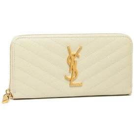 【返品OK】サンローラン 長財布 レディース SAINT LAURENT PARIS 358094 BOW01 9207 ホワイト