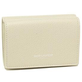 サンローラン 折財布 レディース SAINT LAURENT PARIS 459784 B680N 9207 ホワイト