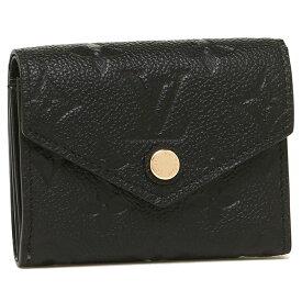 【6時間限定ポイント10倍】【返品OK】ルイヴィトン 折財布 レディース LOUIS VUITTON M62935 ブラック