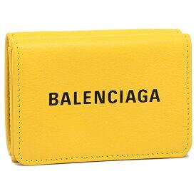 【4時間限定ポイント20倍】バレンシアガ 折財布 メンズ/レディース BALENCIAGA 551921 DLQ4N 7160 イエロー