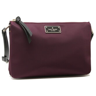 Kate spade shoulder bag outlet Lady's KATE SPADE WKRU4920 513 Bordeaux