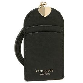 ケイトスペード 定期入れ レディース KATE SPADE PWRU7222 001 ブラック