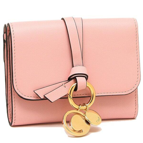 クロエ 折財布 レディース CHLOE CHC17AP945H1Z 6E4 ピンク