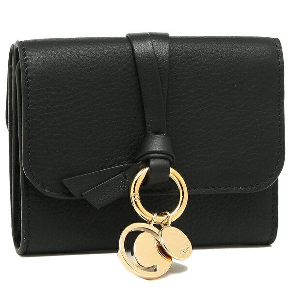 クロエ 折財布 レディース CHLOE CHC17AP945H9Q 001 ブラック