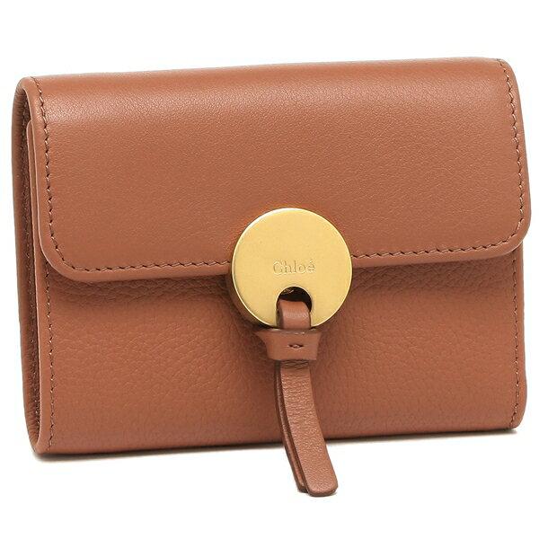 クロエ 折財布 レディース CHLOE CHC17SP853H8J 26K ブラウン