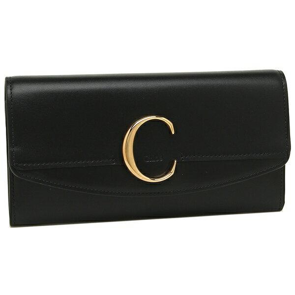 クロエ 長財布 レディース CHLOE CHC19SP055A37 001 ブラック