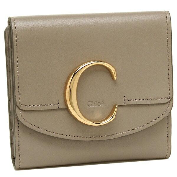クロエ 折財布 レディース CHLOE CHC19SP056A37 23W グレー