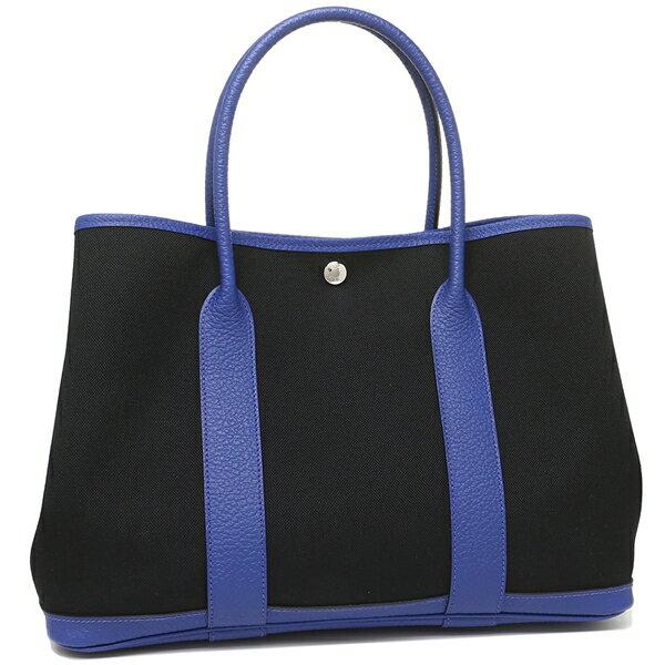 エルメス トートバッグ レディース HERMES 069575CK AN C ブラック ブルー