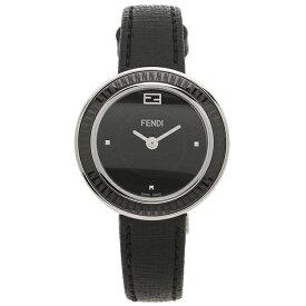 【4時間限定ポイント10倍】【返品保証】フェンディ 腕時計 レディース FENDI F352021011 ブラック