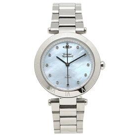 【4時間限定ポイント20倍】ヴィヴィアンウエストウッド 腕時計 レディース VIVIENNE WESTWOOD VV206BLSL シルバー ブルー