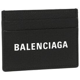 【4時間限定ポイント20倍】バレンシアガ カードケース メンズ レディース BALENCIAGA 490620 DLQ4N 1000 ブラック
