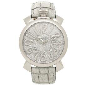 【4時間限定ポイント10倍】【返品保証】ガガミラノ 腕時計 レディース GAGA MILANO 5220.02 シルバー ライトグレー グレー