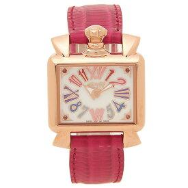 【6時間限定ポイント10倍】【返品OK】ガガミラノ 腕時計 レディース GAGA MILANO 6036.01 レッド ホワイト