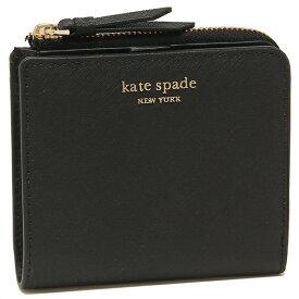 【返品保証】ケイトスペード 折財布 アウトレット レディース KATE SPADE WLRU5431 001 ブラック