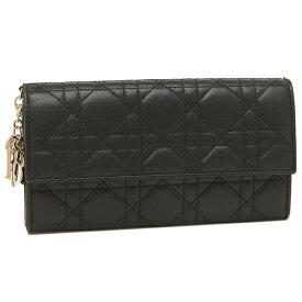【返品OK】ディオール 長財布 レディース Dior S0004 ONMJ 900 ブラック