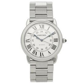 カルティエ 腕時計 メンズ ロンド ソロ ドゥ CARTIER WSRN0012 シルバー