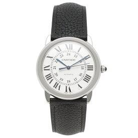 【4時間限定ポイント10倍】カルティエ 腕時計 レディース メンズ CARTIER WSRN0021 シルバー ブラック